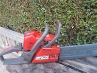 EFCO PETROL CHAIN SAW (hardly used)