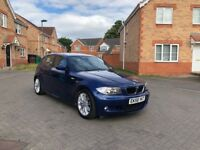 2009 BNW 116i M SPORTS, 12 MONTH MOT, SERVICE HISTORY, LOW MILEAGE, HPI CLEAR