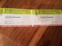 2 x Michael Kiwanuka Tickets, Birmingham Symphony Hall 16/10/17