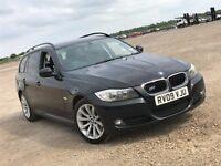 2009 BMW 3 SERIES 320I 2.0 TOURING ESTATE NEWER SHAPE PETROL MANUAL MOT SPACIOUS 320 NOT 520 PASSAT