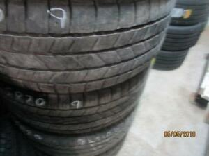 275/55R20 SET OF 4 USED MATCHING GOODYEAR