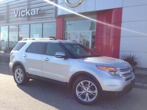 2012 Ford Explorer LIMITED/NAVI/PANO ROOF/LOW KMS!!!