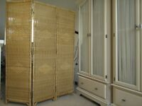 Stylish Natural Wicker Screen/Room Divider