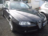 04-04 ALFA ROMEO 166 2.0 TWINSPARK LUSSO 84K SERVICE HISTORY 3 OWNERS HPI CLEAR