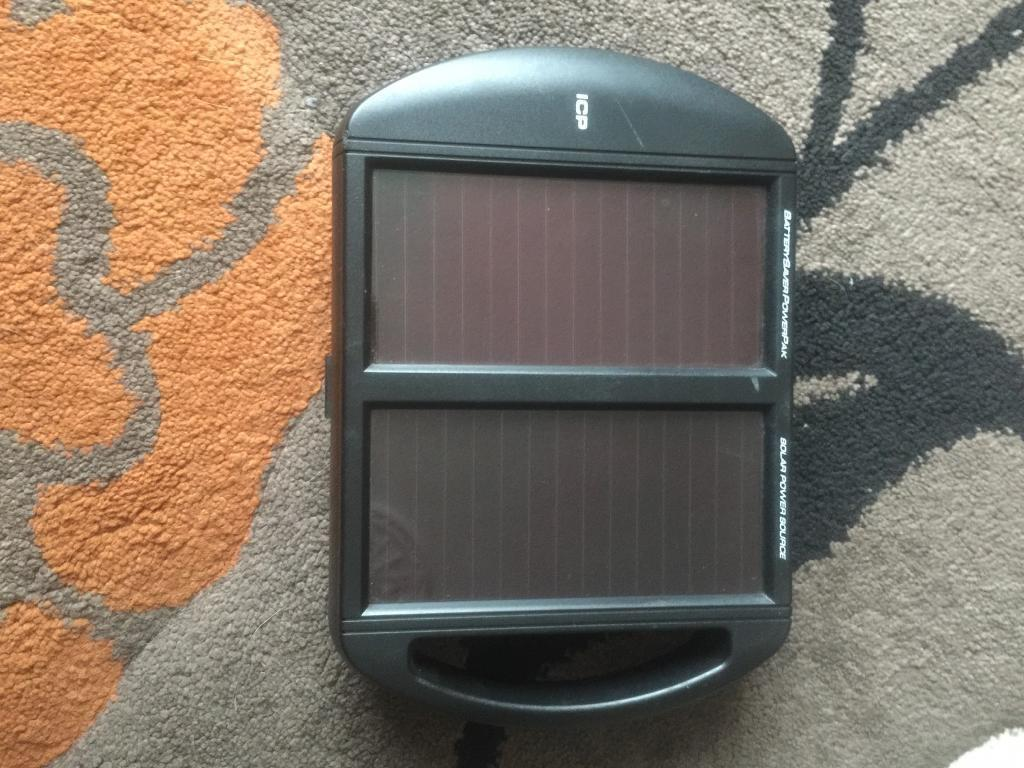 Solar AA charger