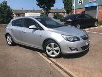 STUNNING 2010 VAUXHALL ASTRA 1.6 PETROL SRI - FSH- COMES WITH 1 YEAR MOT + 6 MONTHS WARRANTY