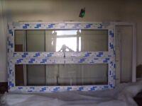 DECEUNINCK WHITE PATIO DOORS