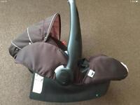 Recaro car seat with the ISOFIX