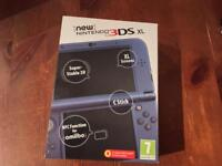 NEW Nintendo 3DS XL Console, Metallic Blue