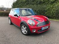 AUTO 2008 MINI COOPER 1.6 D CLUBMAN AUTOMATIC DIESEL FULL SERVICE HISTORY FACTORY EXTRAS one s