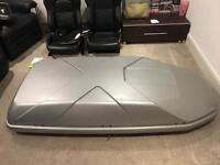 Thule car roof box X1 extra large 450 litres silver