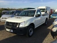 2011 Isuzu 4x2 truck good driving vehicle ultra relible mot unmarked cloth trim bulk liner anytrial