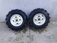 Quad rims & tyres reduced for quick sale