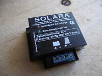 Solara solar panel control box