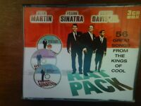 The Rat Pack 3 CD pack