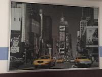Times square canvas