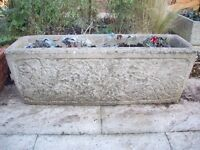 concrete troughs