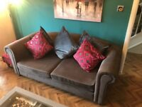 Grey 3 seater sofa in good condition