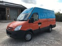 2007 iveco daily 2.3 hpi 35s12 mwb highroof van 1 owner van from new full service history