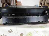 ONKYO TX-SR606 7.1 Channel 110 Watt Receiver For quick sale Moving home