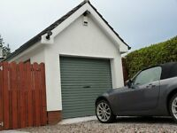 Roller garage door - new and with warranty and peace of mind when you buy direct from TiltAdor