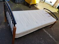 Single bed frame and mattress. FREE delivery in Derby