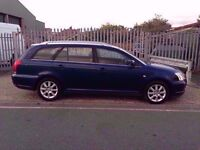 Toyota Avensis 2.2 D-4D T3-S 5dr★★★DIESEL★★★1 COMPANY OWNER★★★6 SPEED★★★SAT NAV★★★