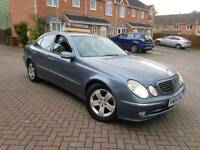 2004 MERCEDES E220 CDI AVANTGARDE AUTO 4 DOOR SALOON