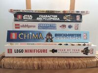 LEGO - Collection of Mini Figure Books and Magazines