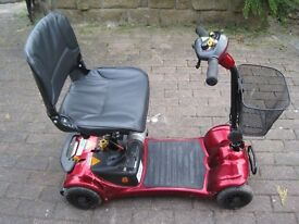 ULTRALITE 480 MOBILITY 4 WHEEL SCOOTER .