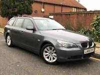 BMW 5 SERIES 530D SE TOURING ESTATE 3.0 DIESEL AUTOMATIC FULL LEATHER 2006