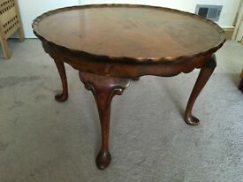 Antique coffee table from 1950