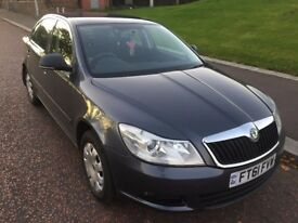 Skoda Octavia DTI 1.6 Diesel Grey 5 Doors 133K Low Mileage £30 Road Tax Year Electric Window MOT