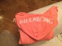 Ladies Billabong hoody.