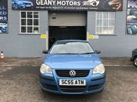 *3 MTH WARRANTY* 06 FACELIFT VW POLO 1.2 ENGINE, FULL MOT, FULLY SERVICED, IDEAL FIRST TIME DRIVER,