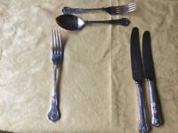 Viners King Design Silverplate Cutlery