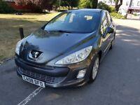 2008 Peugeot 308 1.6 HDi FAP Sport 5dr Full Service History Fully HPI Clear 2 Keys @07541423568@