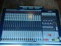 Soundcraft GB8 16 channel mixer