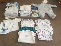 Bundle baby clothes 0-3 months and some 3-6