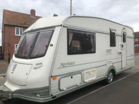 4 berth l shape lounge Abi Northstar. Awning & all the extras. No damp. I can deliver. Cheap