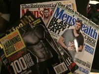 16 Men's Health Magazines (some completely unopened)