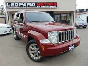 2009 Jeep Liberty Limited,Navigation,Sky Roof,Leather,4X4*No Acc