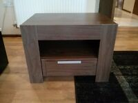 Oregon Walnut Effect Lamp Table - As new condition - £35 ONO