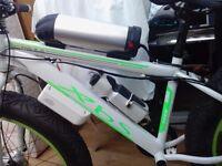 Battery powered push bike