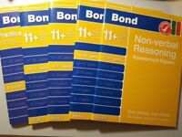 Bond 11+: Non-verbal Reasoning Assessment Papers & 10 Minute Tests (7 books)