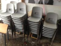 Chairs stacking x50