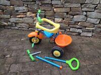 Settings Smart Trike Play 3 in 1 Trike