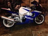 Suzuki gsxr1000 k2 full mot 2003 may part exchange,