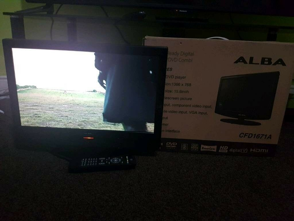 """19"""" FULL HD FREEVIEW LCD TV WITH CARTON, REMOTE CONTROL & MANUAL (A Month  Old) 