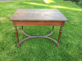 Old table for upcycling